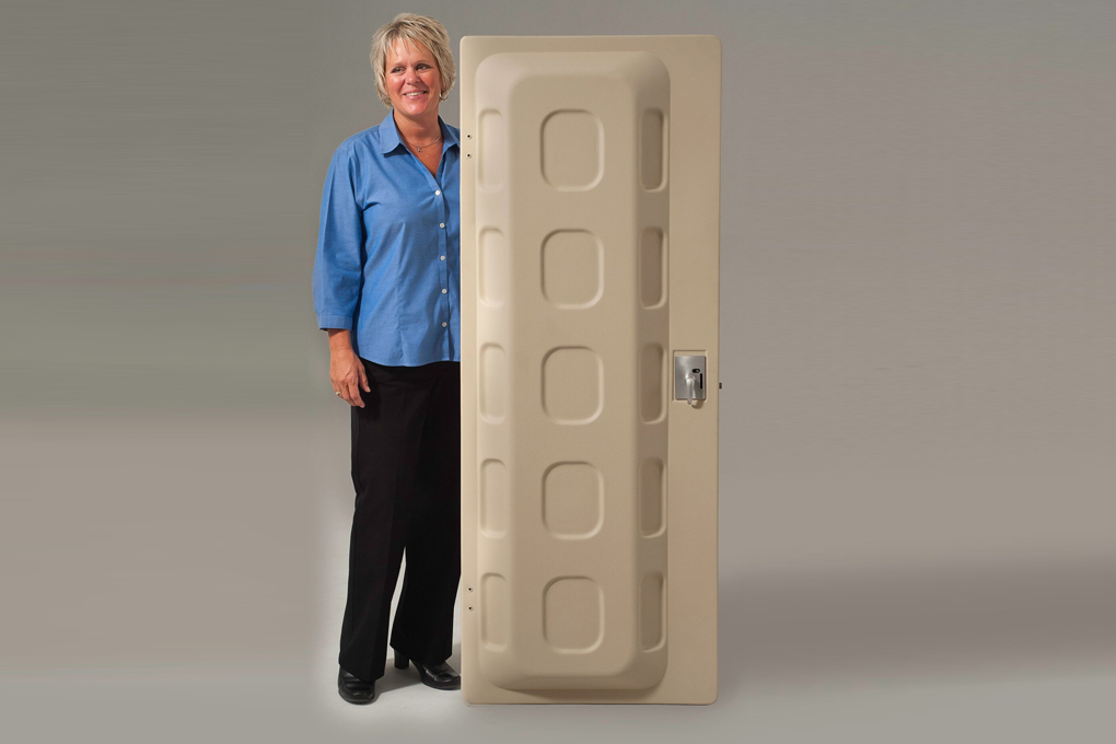 Two Piece Thermoformed Door