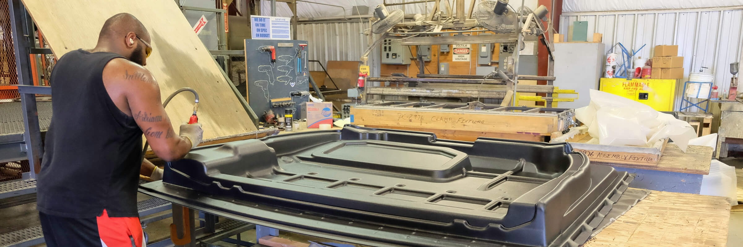 How Thermoforming Large Parts vs. Individually Made Parts Saves Weight, Time, and Money